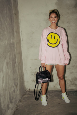 Smiley Lounge Sweater