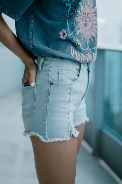 Triple Threat Jean Shorts