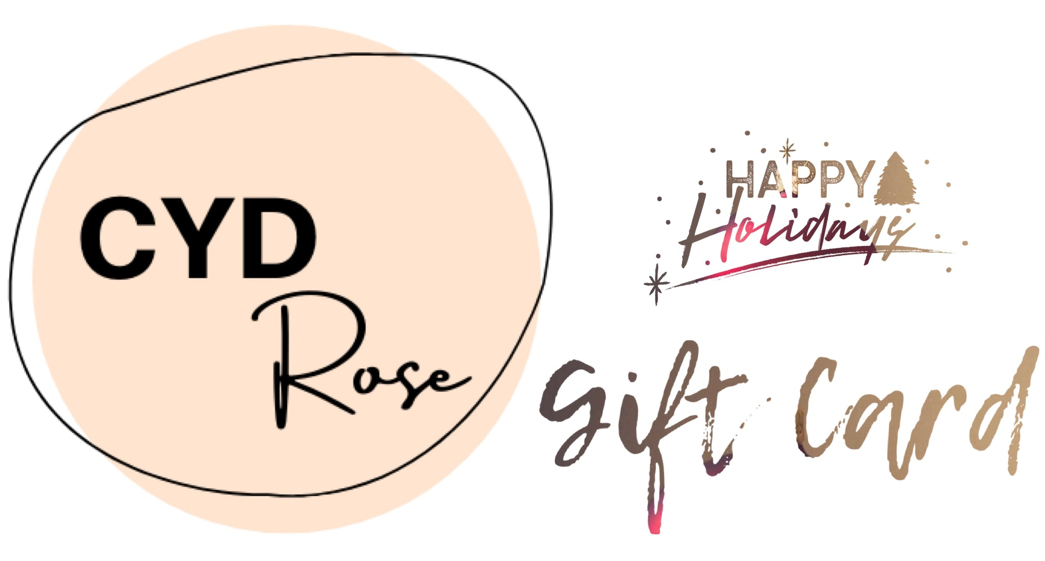 ShopCydRose Gift Card