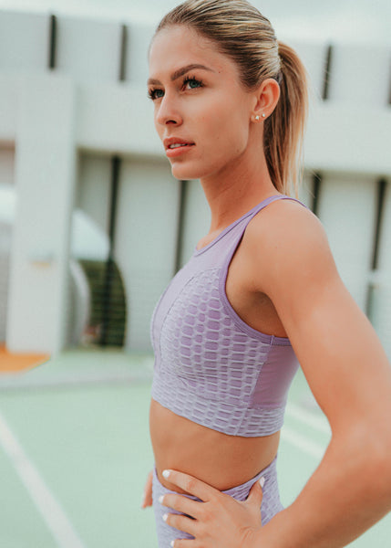 Shop our brand new lavender workout outfits at CYD ROSE. Our stylish and affordable purple activewear sets include FREE SHIPPING on domestic orders.