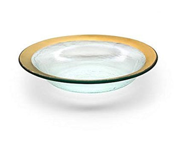 AnnieGlass 'Roman Antique' Deep Bowl