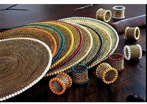 Calaisio Beaded Placemat