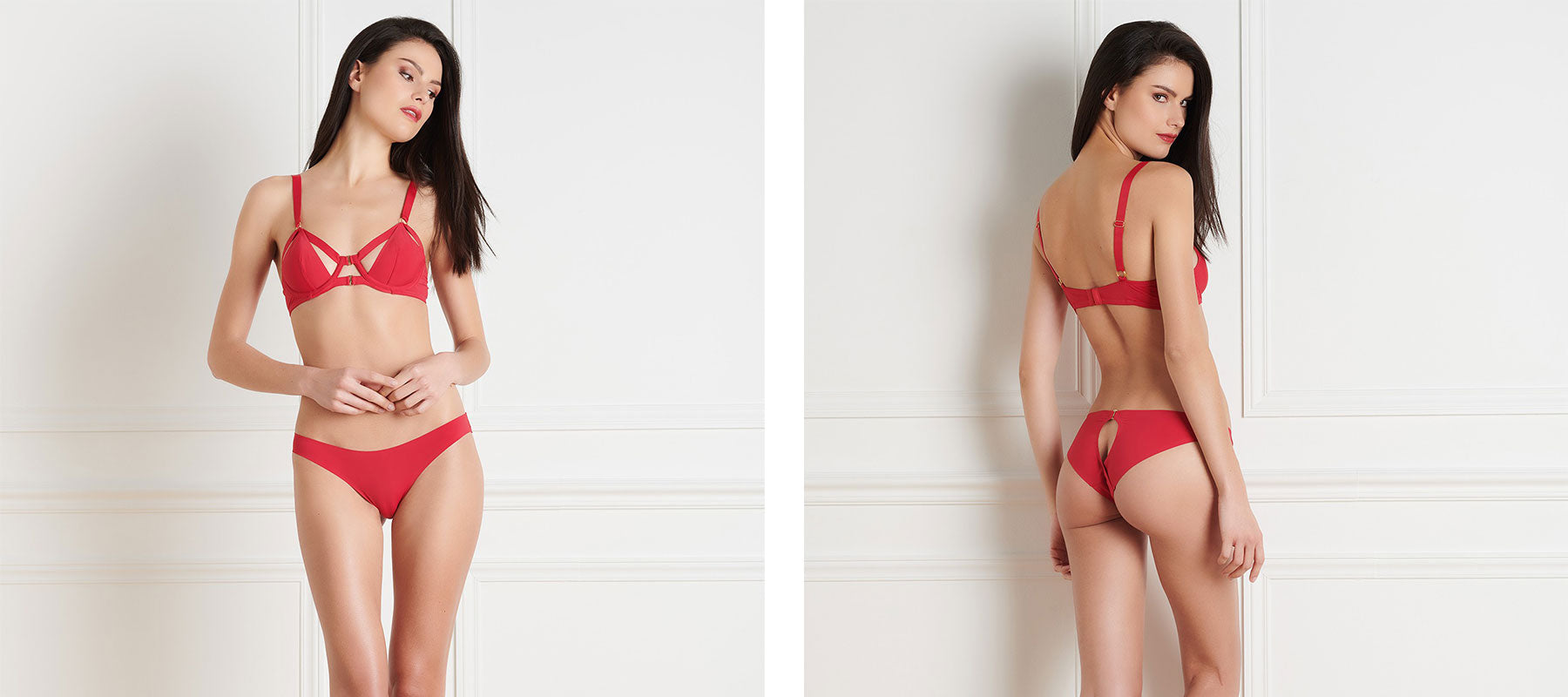 Maison Close Tapage Nocturne Rouge - Naughty Knickers