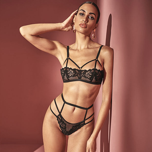 Bracli London Bra & Panty - Naughty Knickers