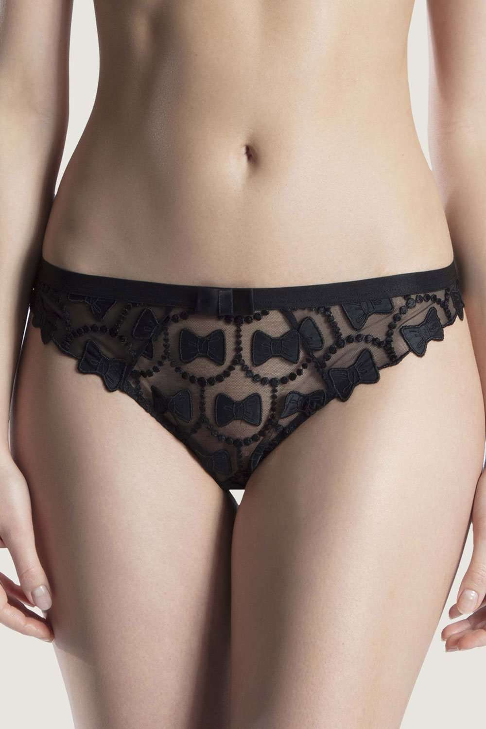 Viktor&Rolf X Aubade Bow Tanga - Naughty Knickers