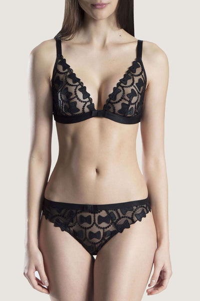 Aubade The Bow Collection Tanga - Sexy Lingerie - Naughty Knickers