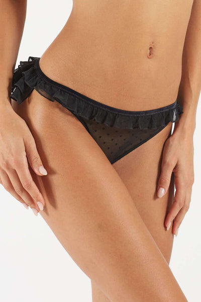 Atelier Amour Plumetis Chéri Open Brief - Naughty Knickers