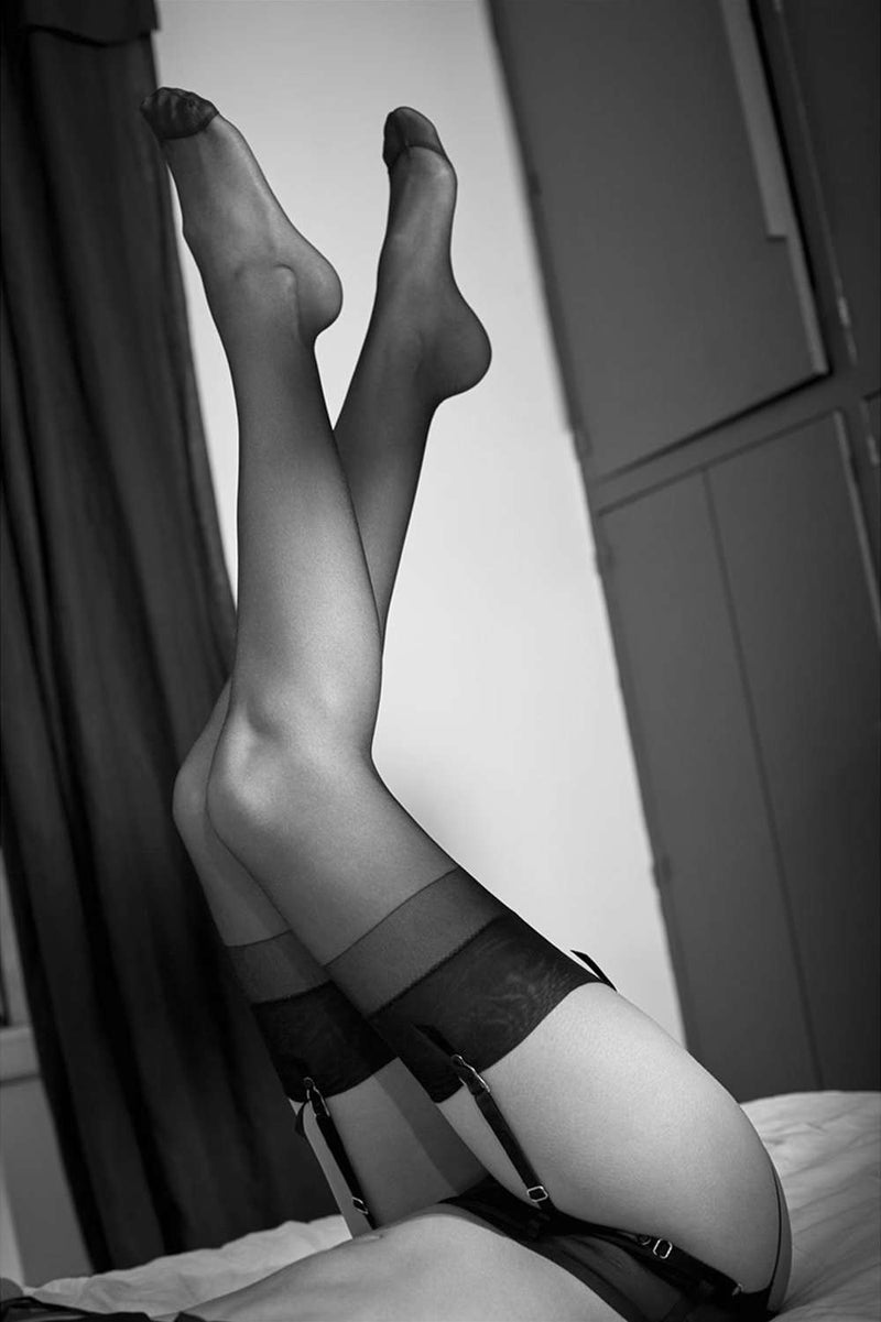 Atelier Amour - Sheer Nylon Stockings - Naughty Knickers