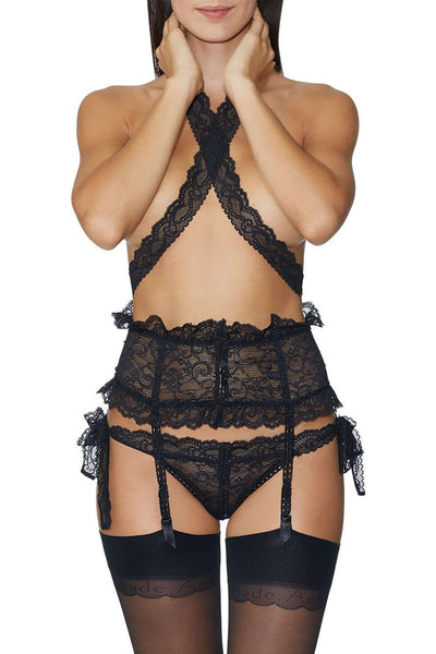 Aubade - Openable Brief - Lace Lingerie - Naughty Knickers