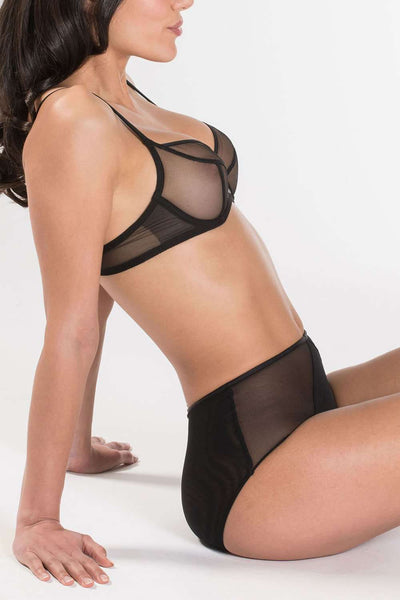 Aubade - Balconette Bra - Sexy Lingerie - Naughty Knickers