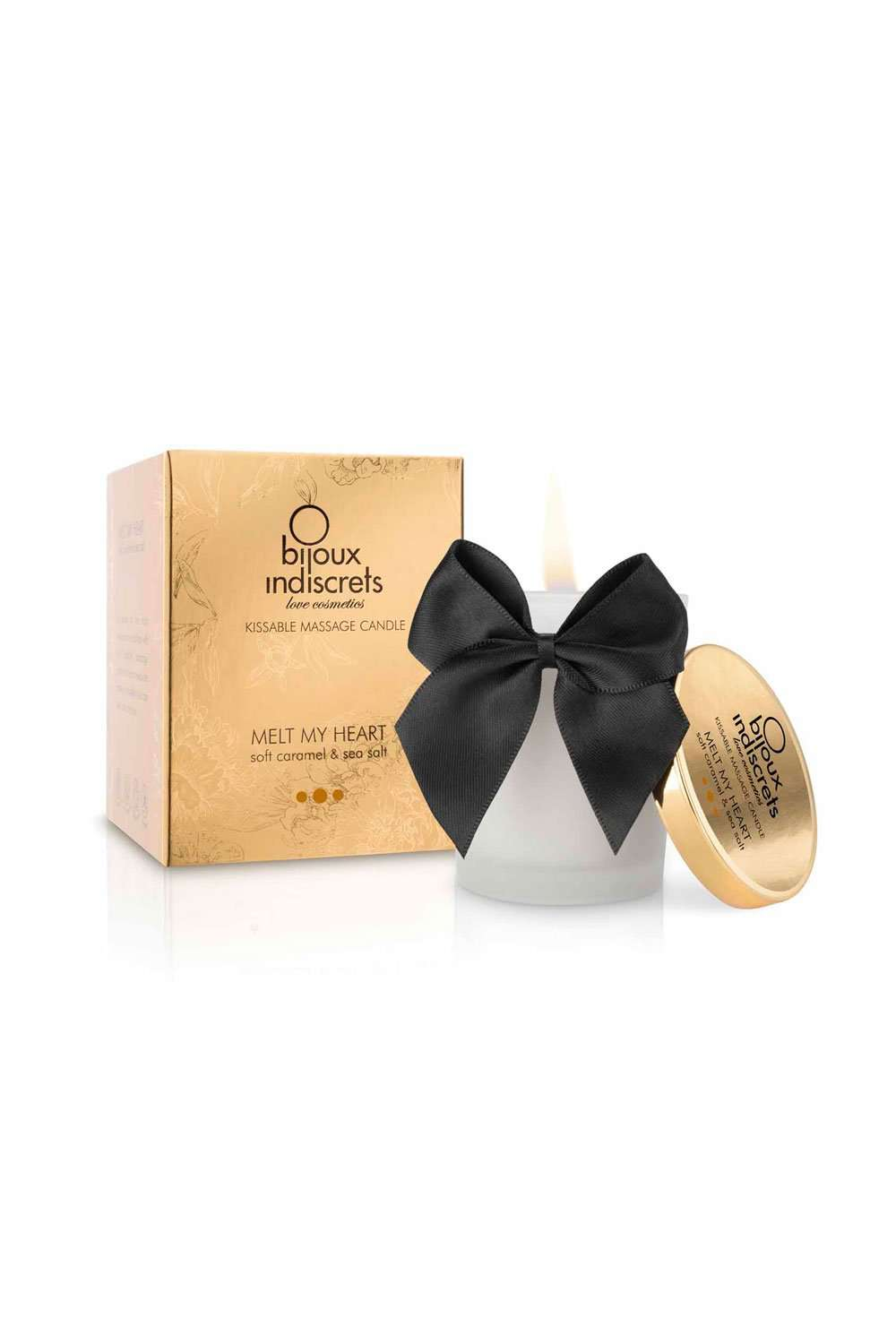 Bijoux Indiscrets Kissable Soft Caramel & Sea Salt Massage Candle - Naughty Knickers