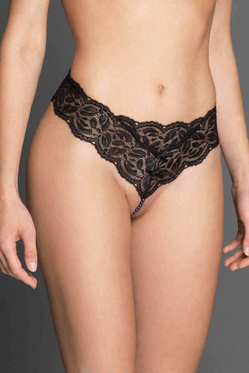 Bracli Ebony Night Thong