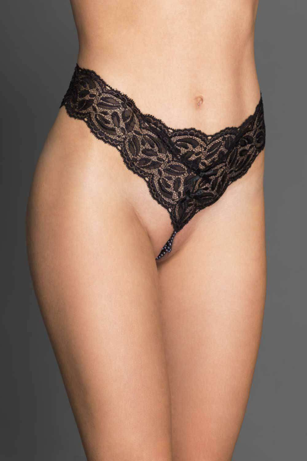 Bracli Ebony Your Night Thong