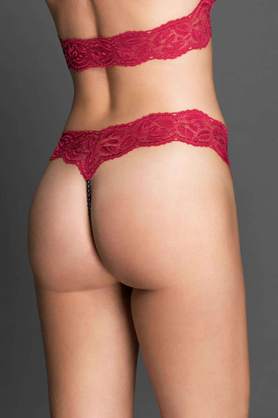 Bracli String Your Night Paris - Naughty Knickers