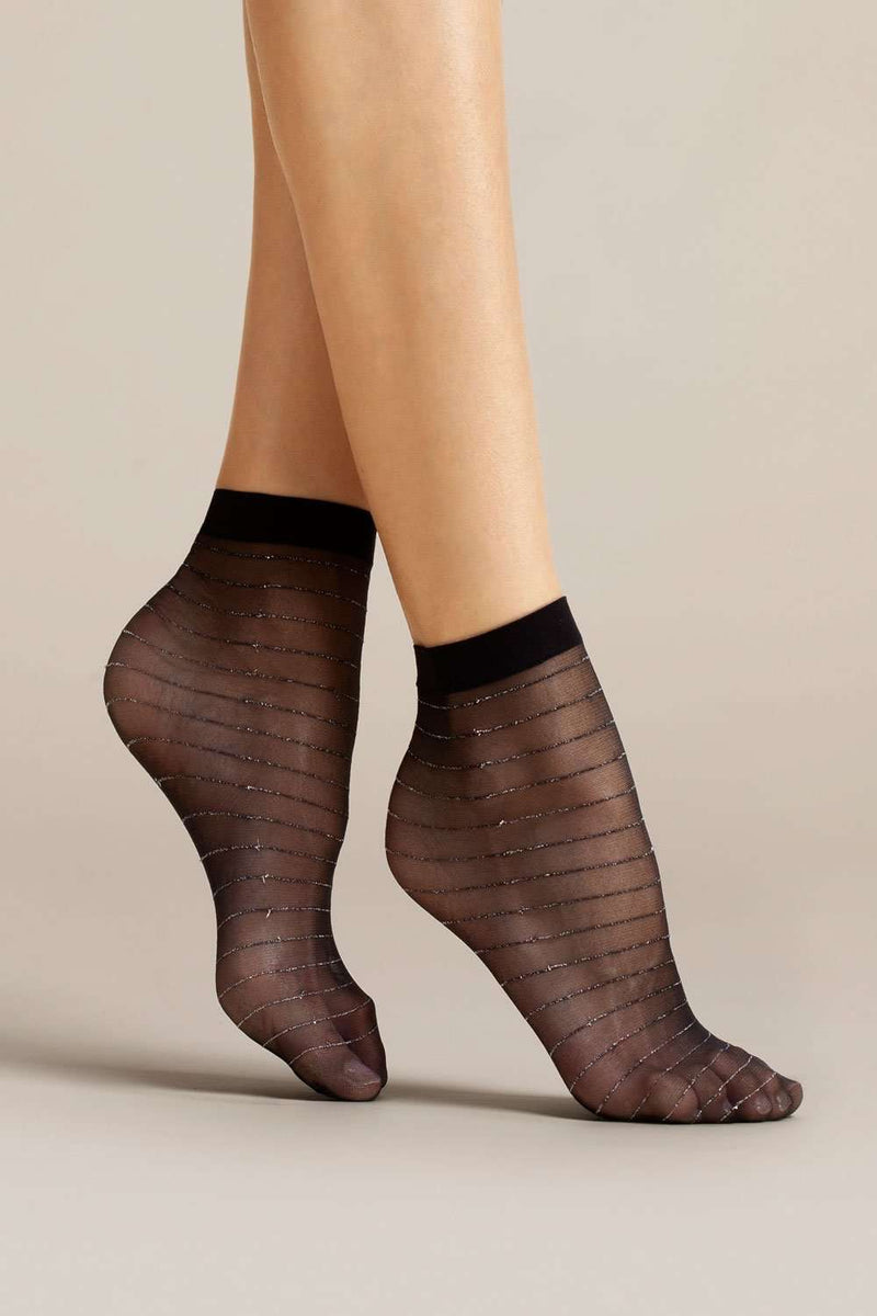 FiORE Anello Socks 20 Denier - Glitter Socks - Naughty Knickers
