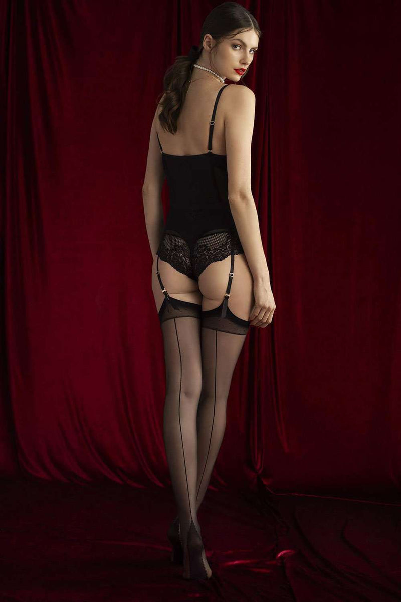 FiORE Sensual Diva Stockings 20 Denier O4065 - Naughty Knickers