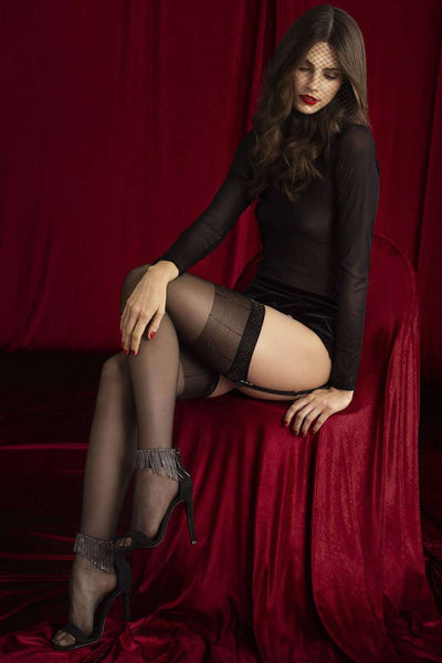 FiORE Sensual Hynose Stockings - Glitter Stockings - Naughty Knickers
