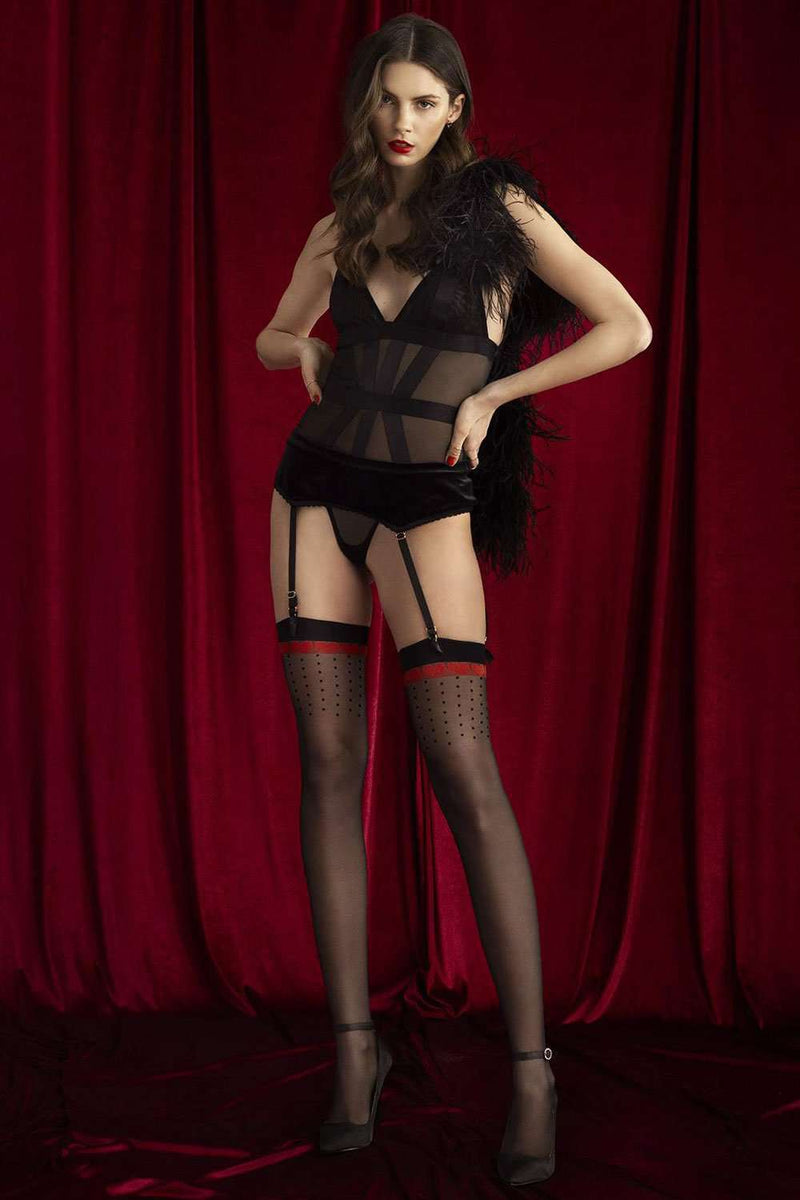 FiORE Sensual Lovely Stockings 20 Denier O4069 - Naughty Knickers