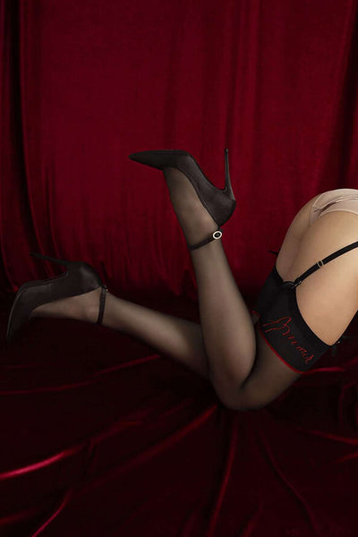 FiORE - Amante Stockings - Patterned Stockings - Naughty Knickers