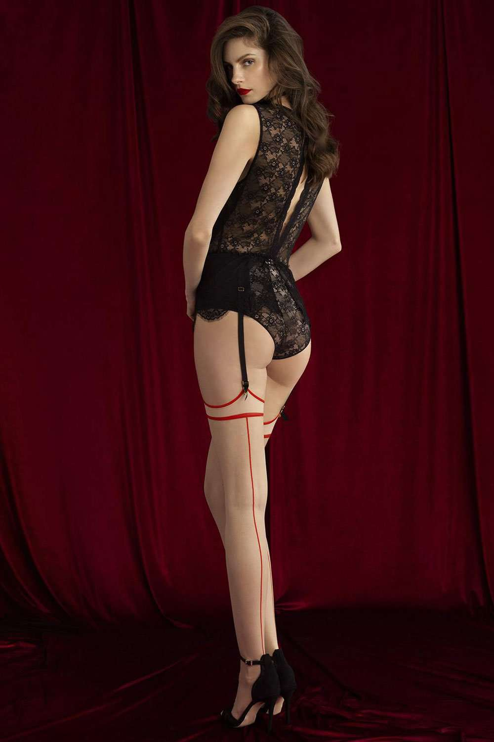 FiORE Sensual Madame Stockings 20 Denier - Naughty Knickers
