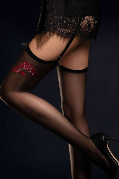 FiORE Sensual Stockings - Patterned Stockings - Naughty Knickers