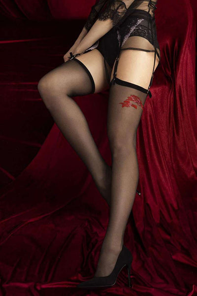 FiORE - Piccante Stockings Black Stockings - Naughty Knickers