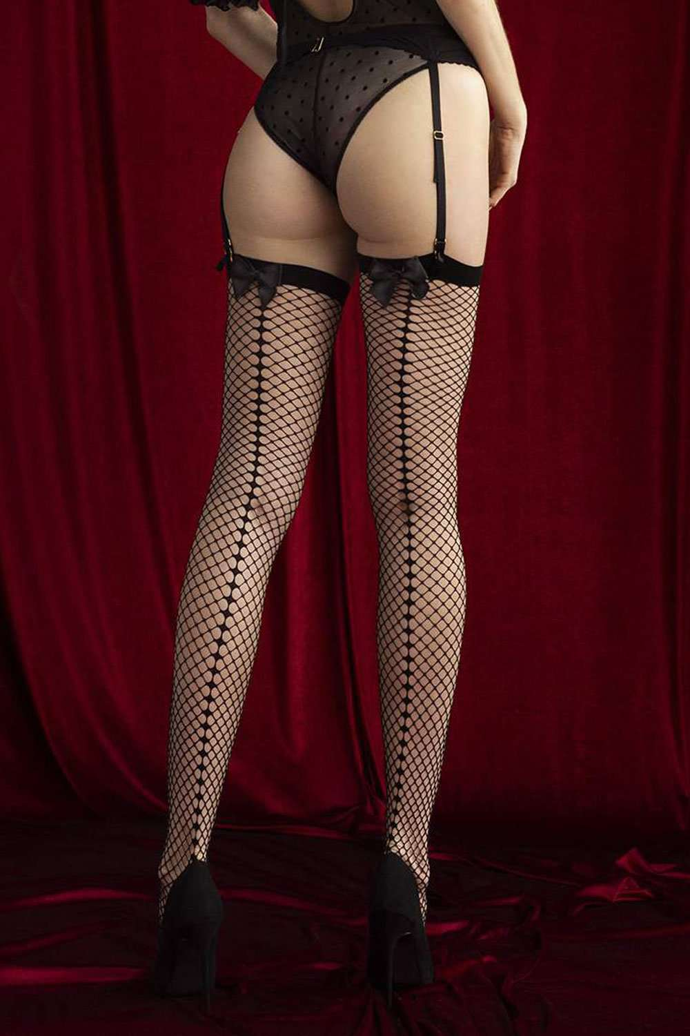 FiORE Sensual Satine Stockings 30 Denier O4060 - Naughty Knickers