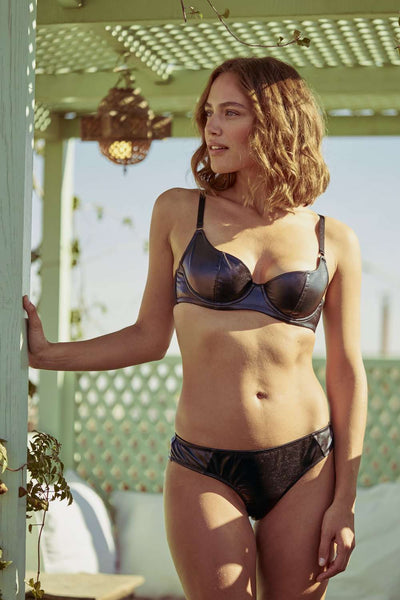 Inamorata London Sweetheart Bra Dahlia - Naughty Knickers