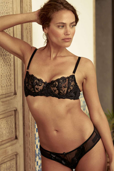 Inamorata London Wire Bra Aster - Naughty Knickers