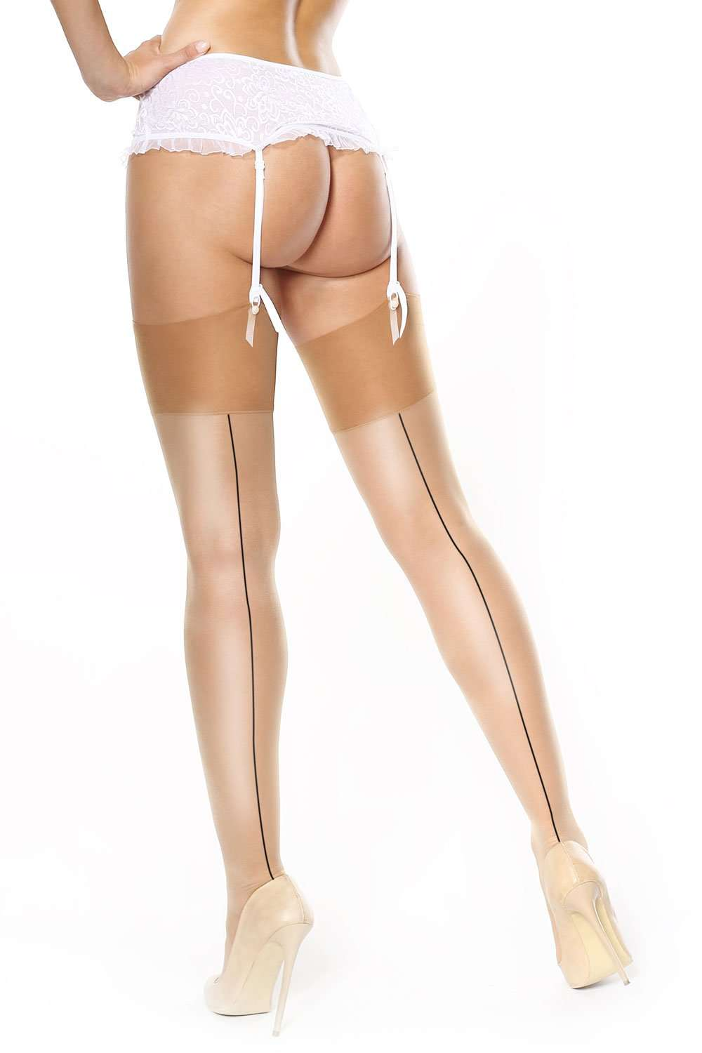 missO Back Seamed Stockings 15 Denier