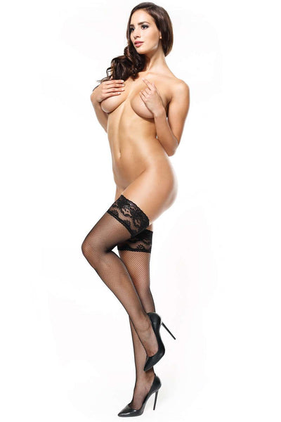 missO Hold Ups - Fishnet Hosiery - Naughty Knickers