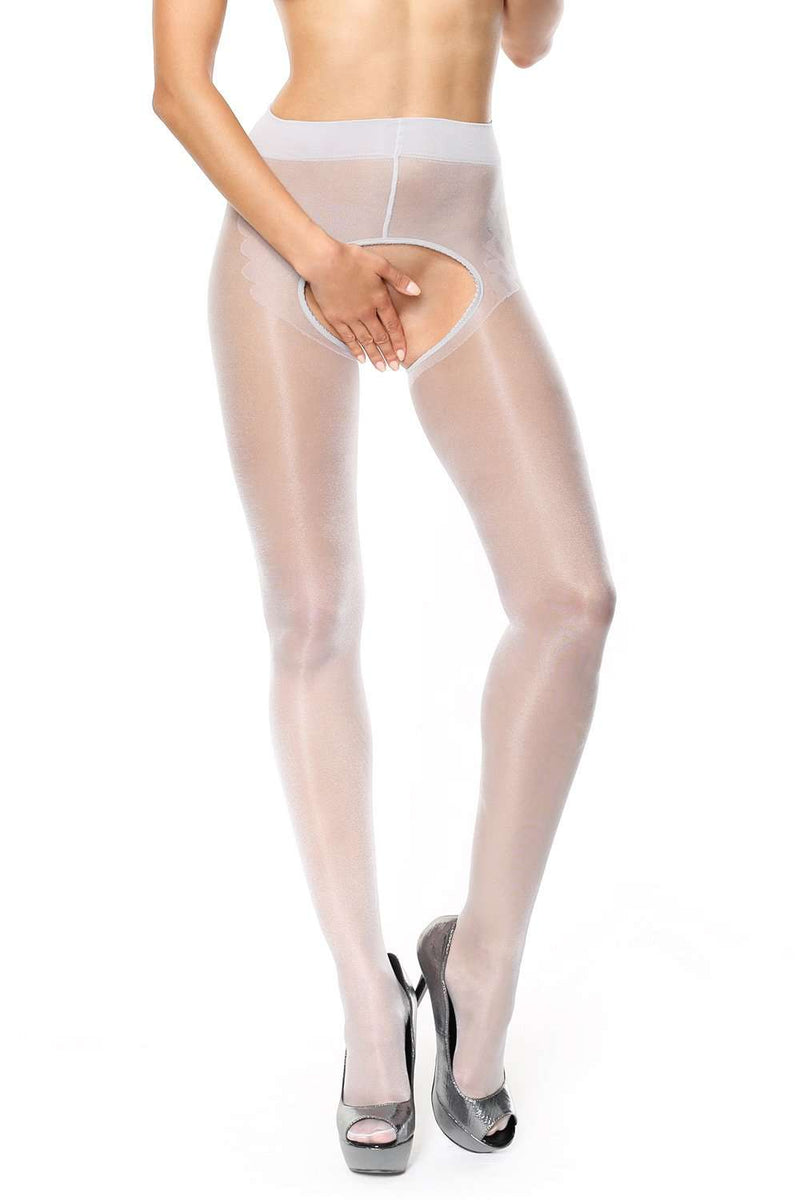 missO Silver Tights - 20 Denier - Naughty Knickers