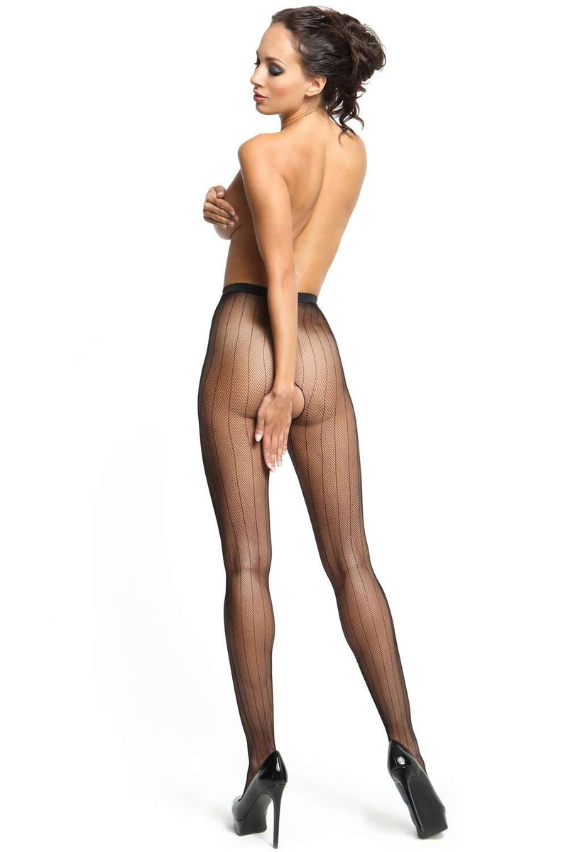 missO Black Tights - Sheer Hosiery - Naughty Knickers