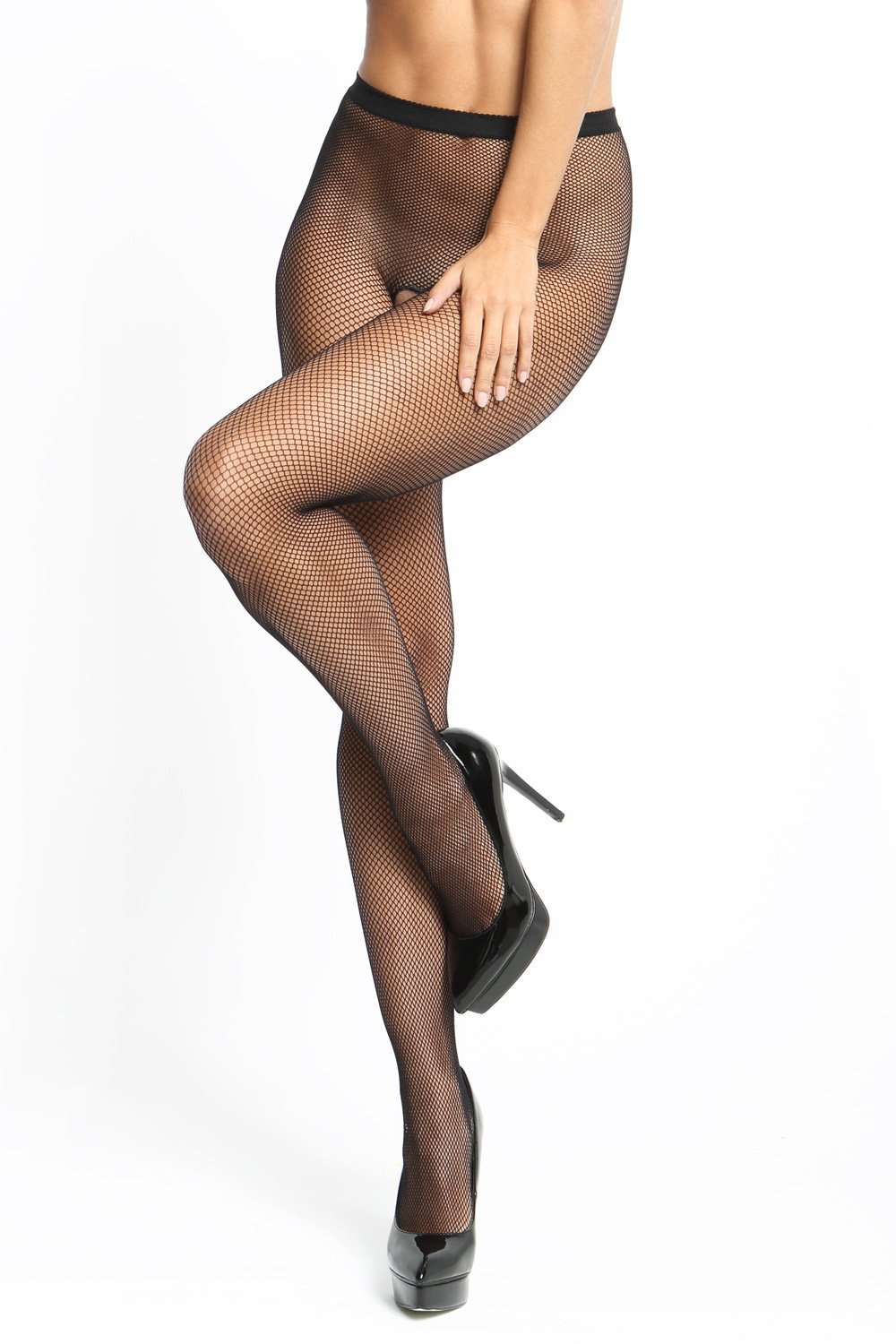 missO Open Crotch Fishnet Tights 20 Denier