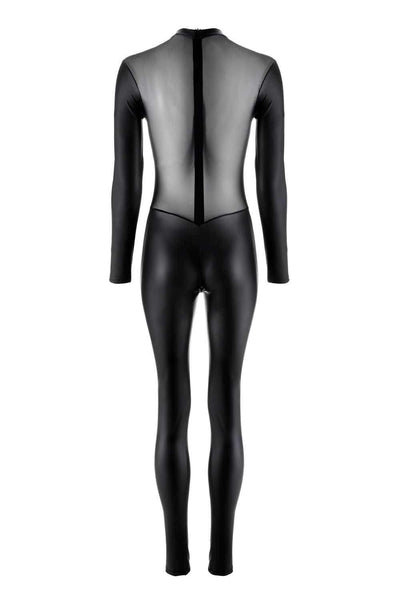 Maison Close Catsuit Chambre Noire - Wetlook Lingerie - Naughty Knickers