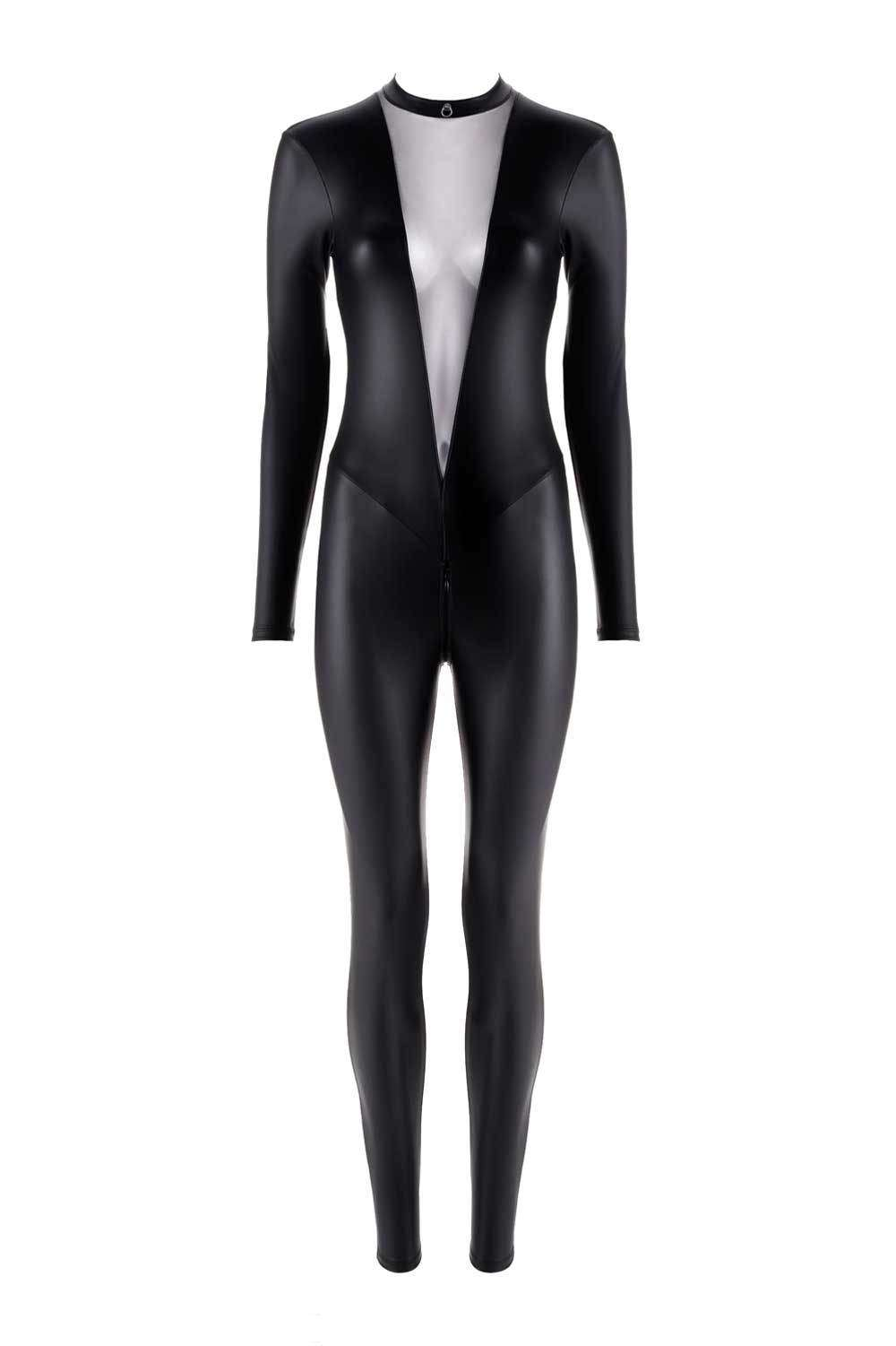 Maison Close Chambre Noire Catsuit With Zip