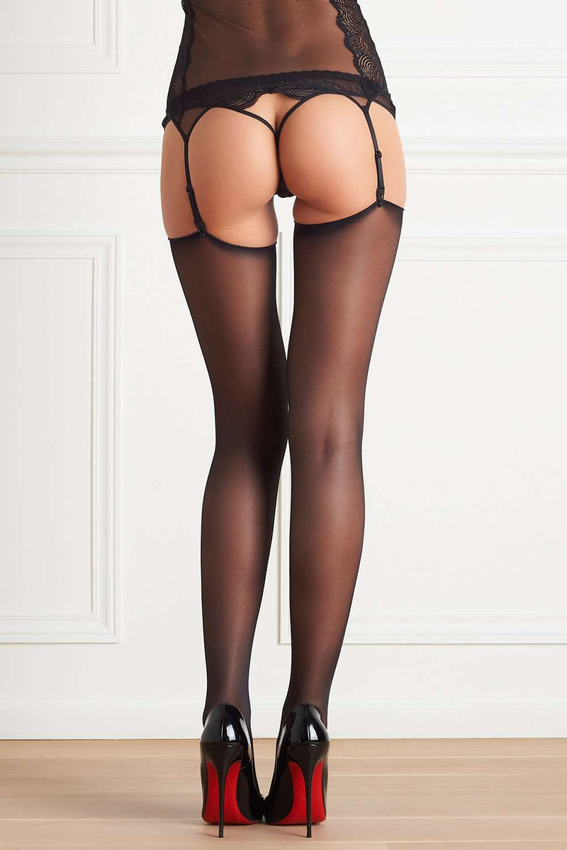 Maison Close Cut & Curled Stockings - Naughty Knickers