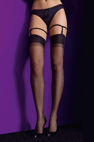 Maison Close 'Authentique Bas Retro' Nylon Stockings 15 Denier
