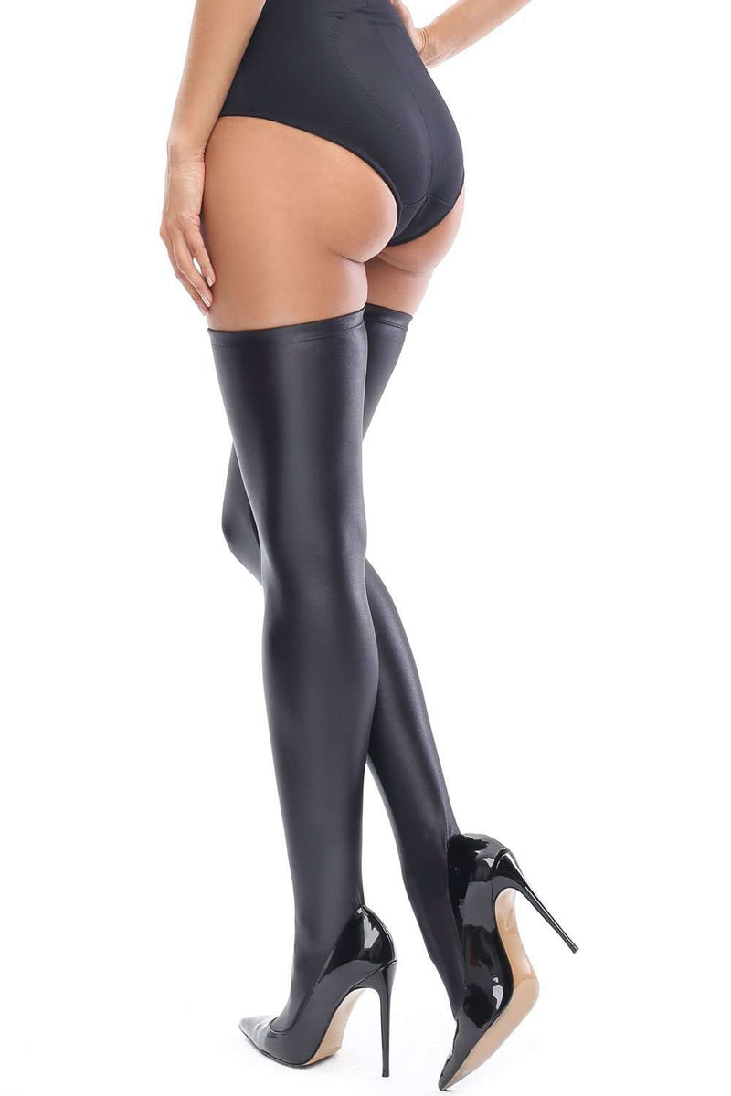 missO Stay Up Stockings - Opaque Hold-Ups  - Naughty Knickers