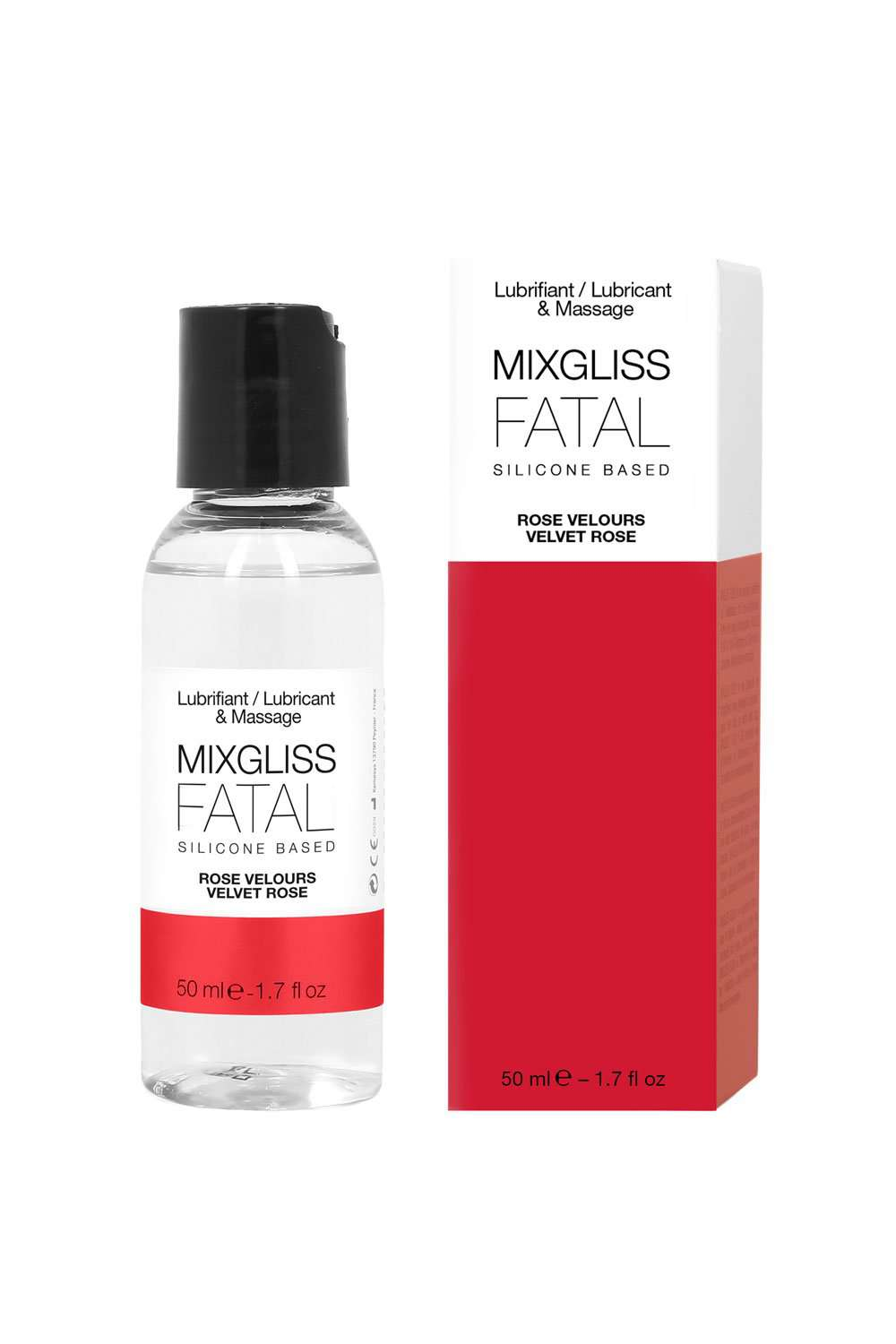 Mixgliss Velvet Rose Silicone-Based Lubricant & Massage Fluid