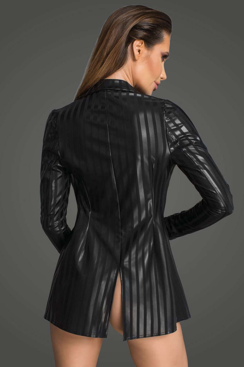 Noir Handmade Powerwetlook Jacket F209 - Naughty Knickers