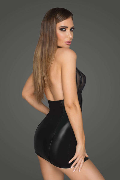 Noir Handmade - Backless Mini Dress - Sexy Dress - Naughty Knickers