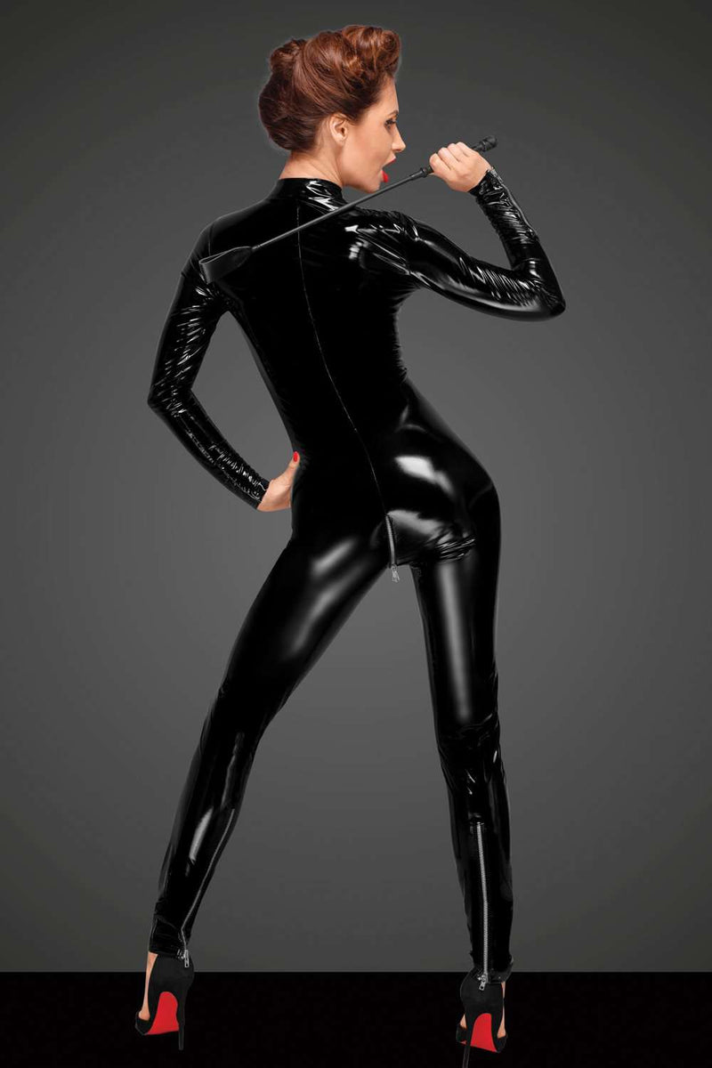 Noir Handmade - Catsuit with Zip - Fetish Lingerie - Naughty Knickers