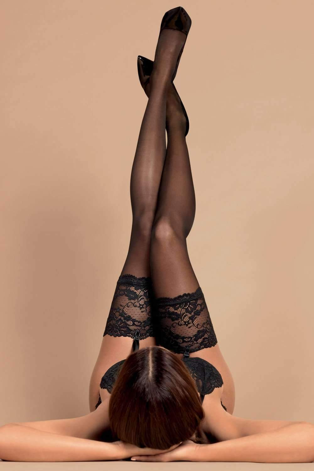 Obsessive Lace Stockings 15 Denier
