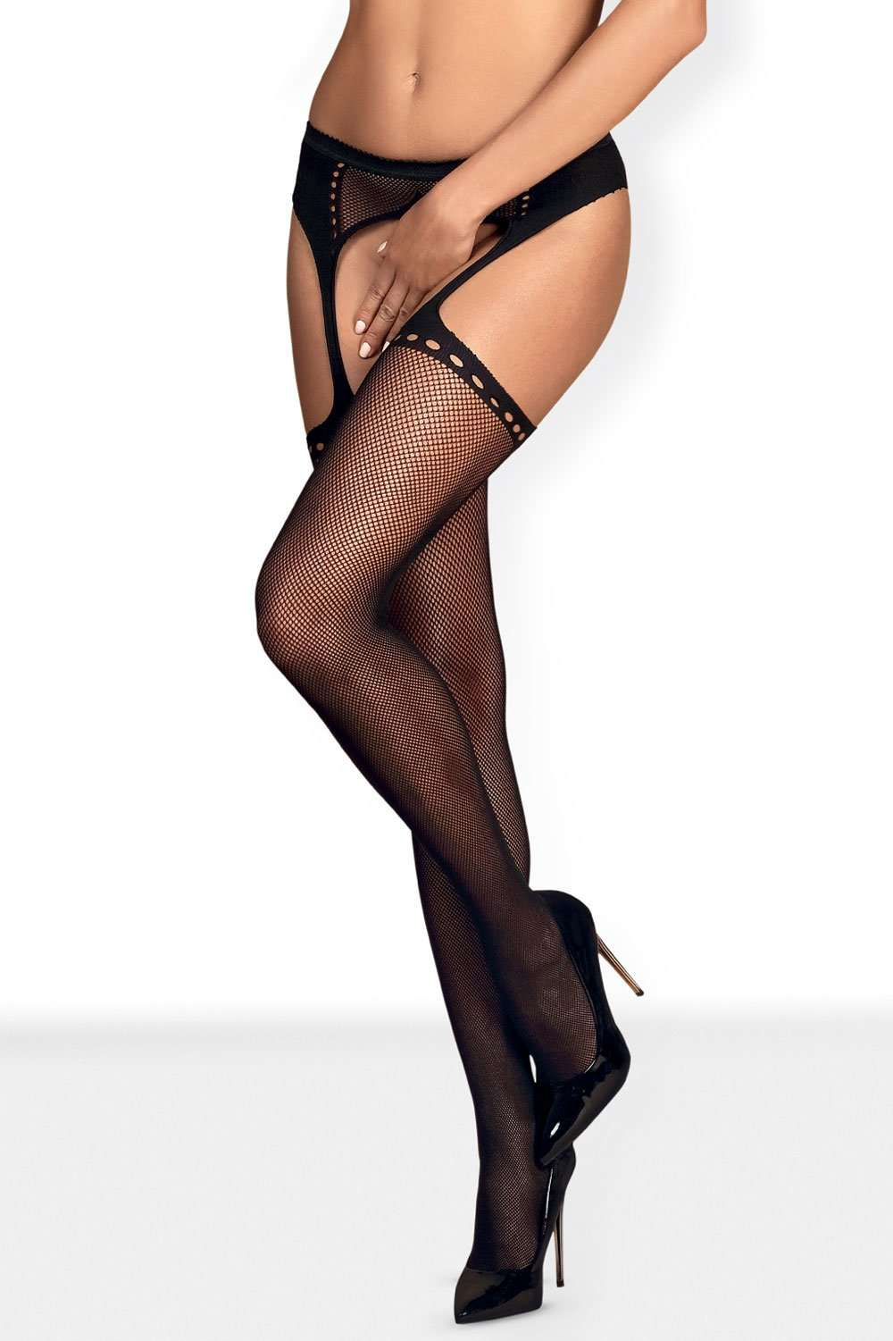 Obsessive Crotchless Tights, (NR)-S314