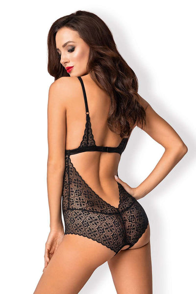 Obsessive - Crotchless Body - Crotchless Lingerie - Naughty Knickers