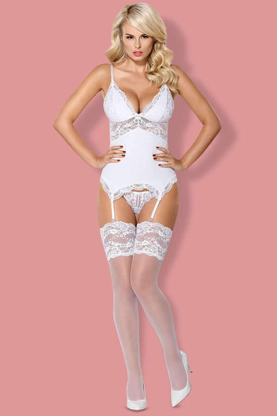Obsessive Bridal Stockings - Sexy Stockings - Naughty Knickers