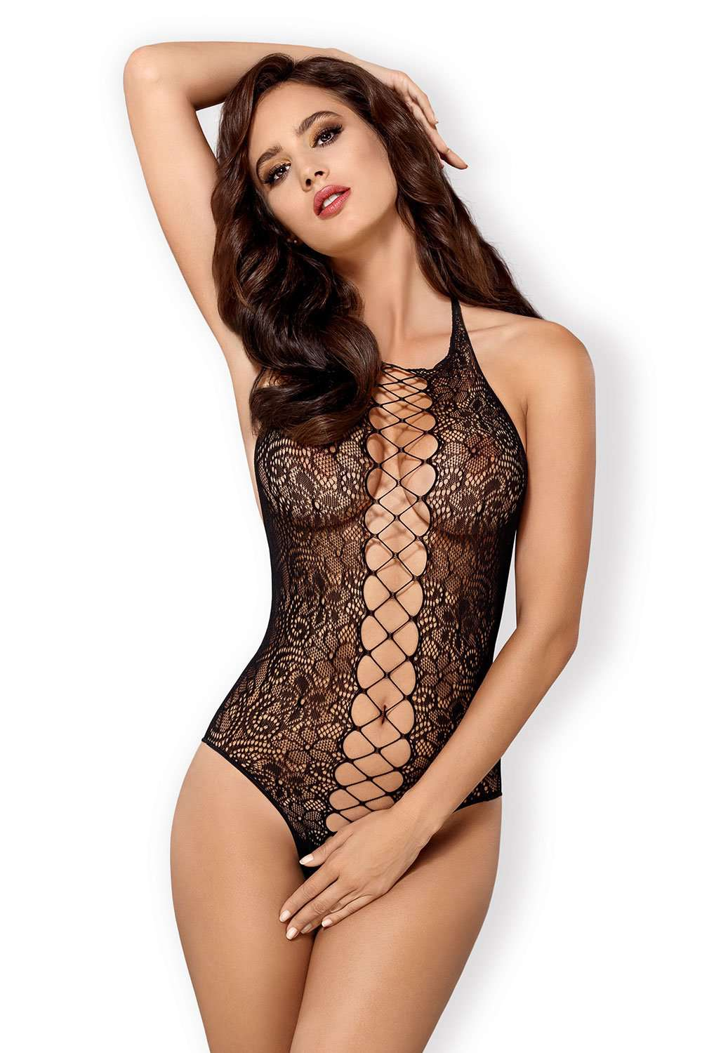 Obsessive Crotchless Bodystocking