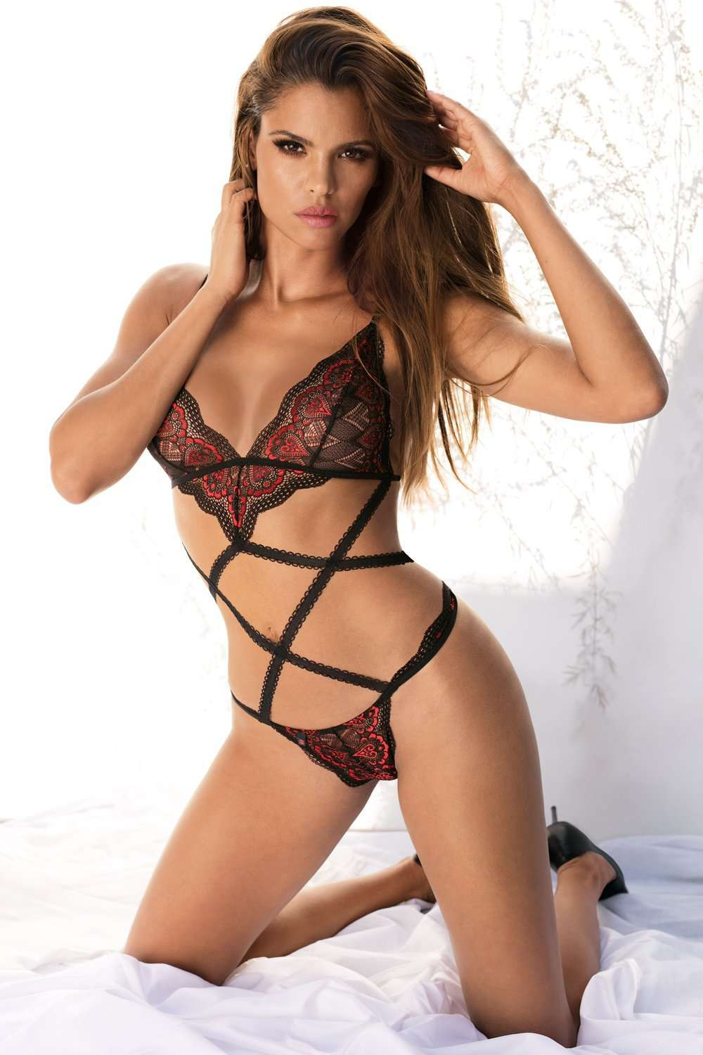 Obsessive Megies Strappy Teddy