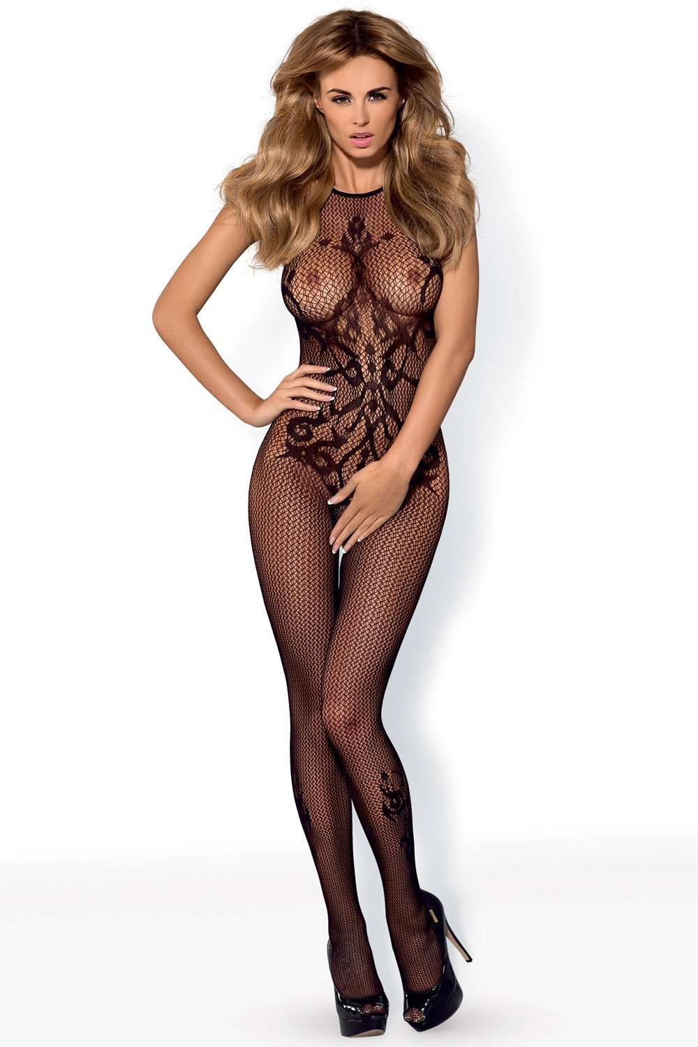 Obsessive Bodystocking G308 - Naughty Knickers